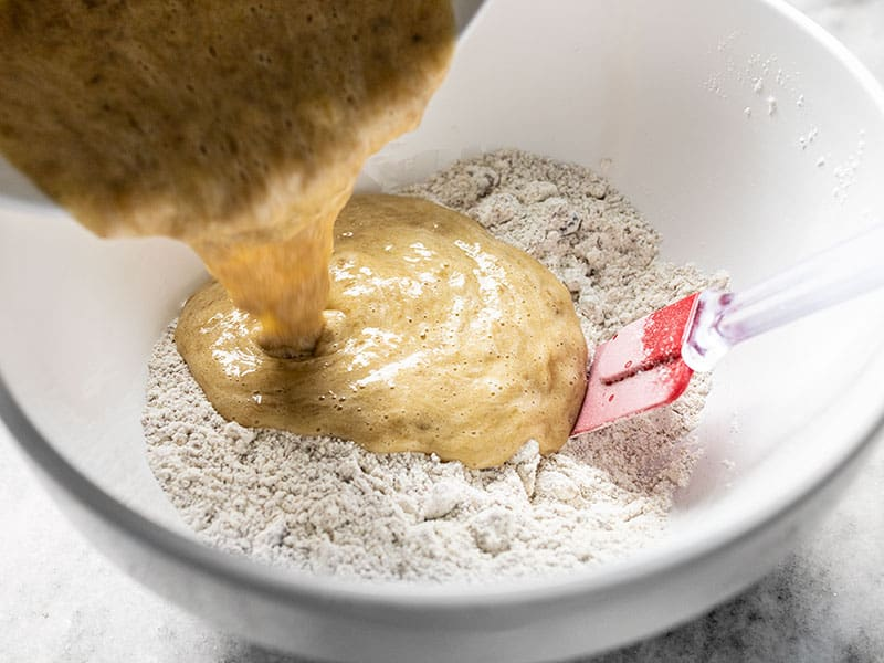 Combine Wet and Dry Ingredients