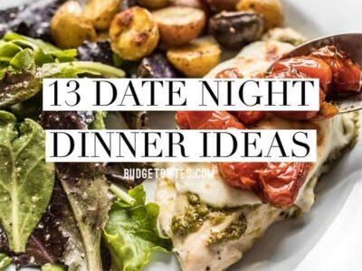 Date Night Dinner Ideas