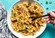 Cajun Cabbage and Noodles