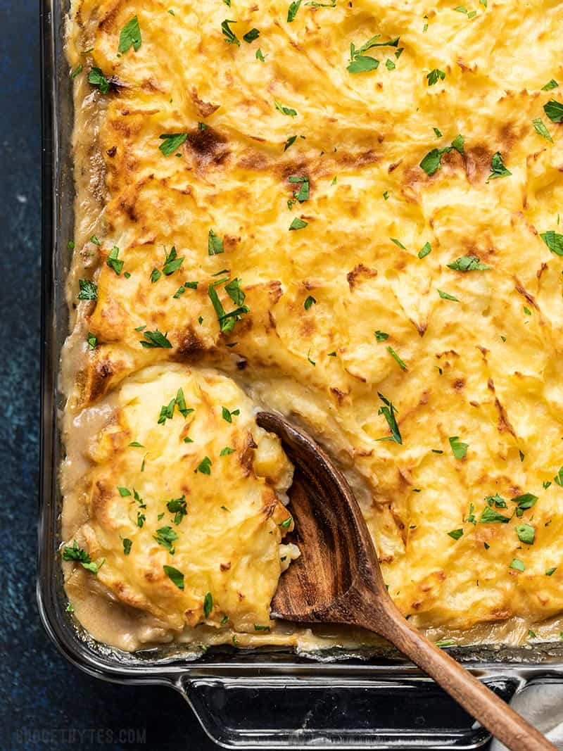Sensational Cheesy Cottage Pie Step By Step Photos Budget Bytes Home Interior And Landscaping Ponolsignezvosmurscom