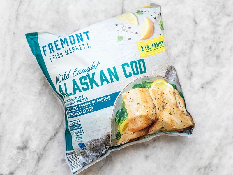 Frozen Cod Package