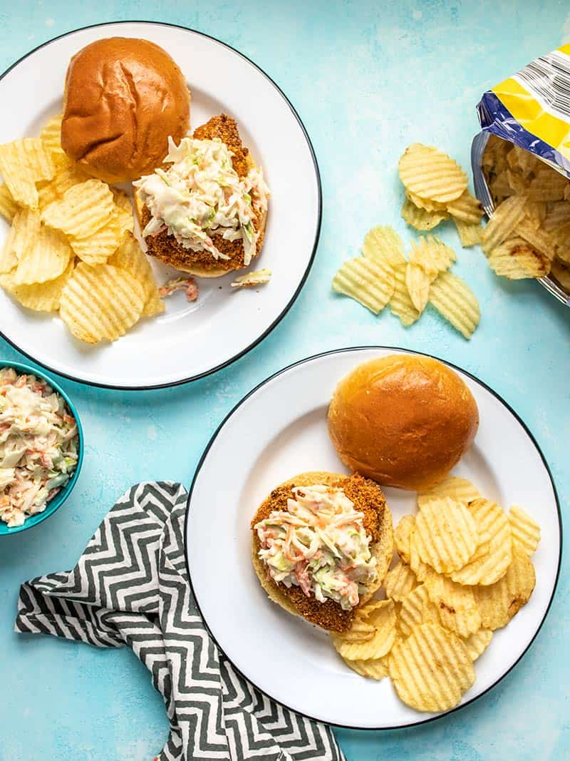 Baked Spicy Chicken Sandwiches and My Stonyfield Organic Experience