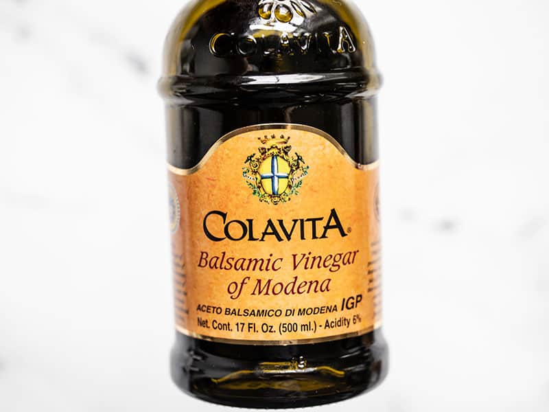 Colavita balsamic vinegar bottle