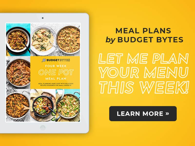 Meal Plans by Budget Bytes