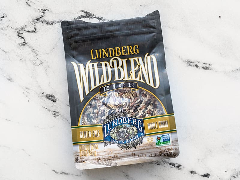 Wild rice blend package