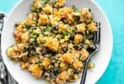Chipotle Butternut Squash and Quinoa Salad