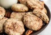 Cinnamon Pecan Sandies