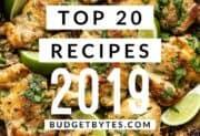 Top 20 Recipes of 2019