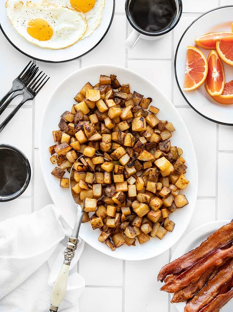 Smoky Roasted Breakfast Potatoes