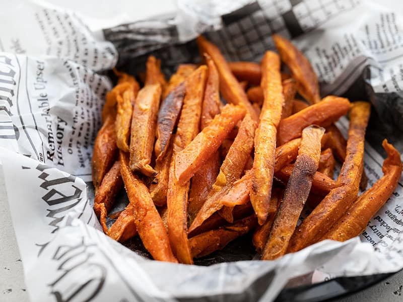 Spicy Sweet Potato Fries Oven Baked Budget Bytes