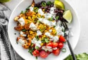 Roasted Cauliflower Taco Bowls
