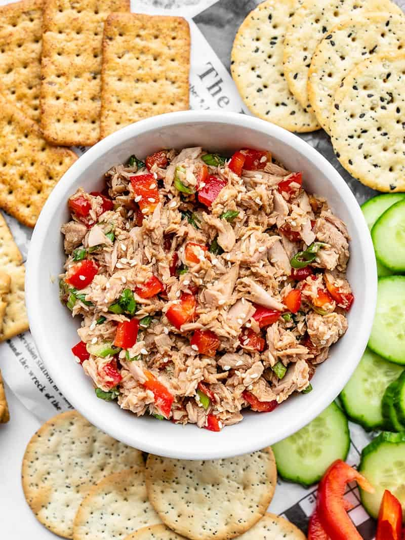 Sesame Tuna Salad Recipe No Mayo Budget Bytes