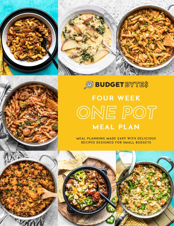 One Pot Meal Plan Vol. 1 Cover