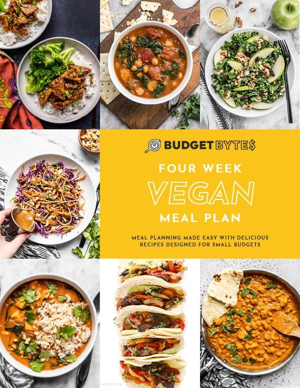 Vegan Vol. 1 Meal Plan Cover