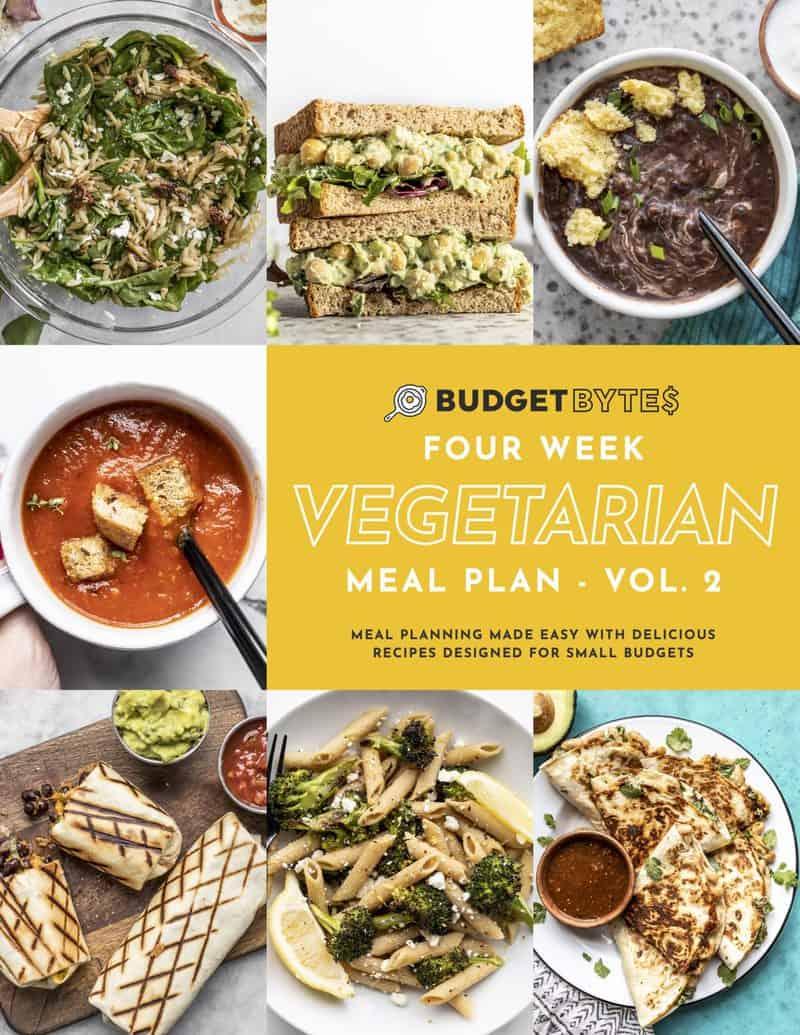 Vegetarian Meal Plan Vol. 2 Cover