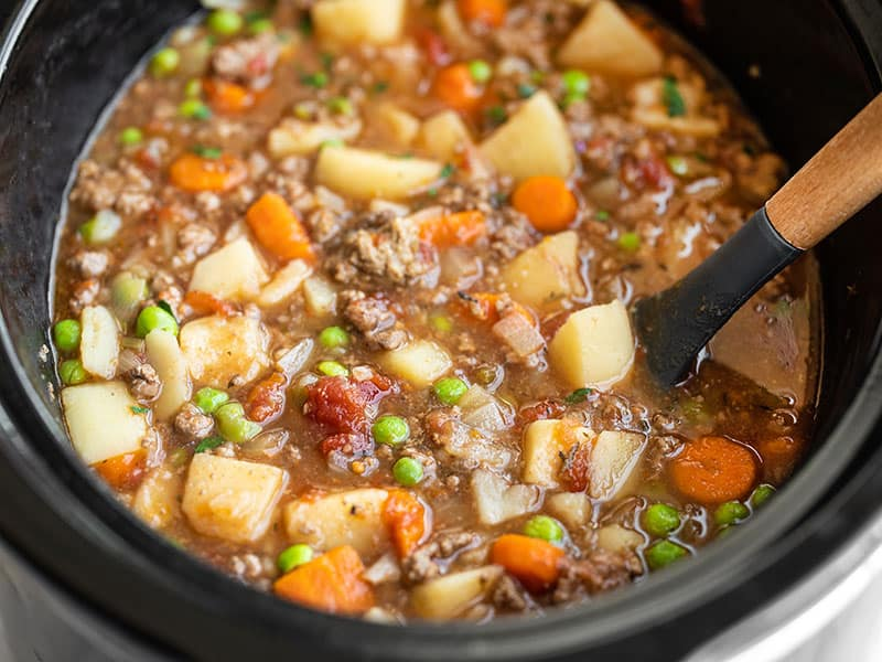 Easy Slow Cooker Hamburger Stew Budget Bytes