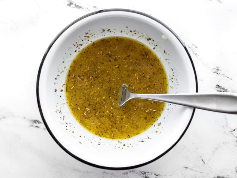 Prepared garlic marinade