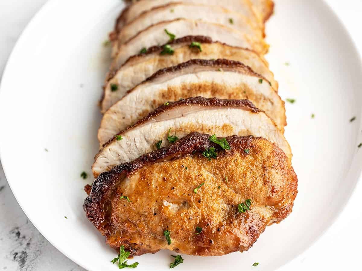 Brown Sugar Roasted Pork Loin