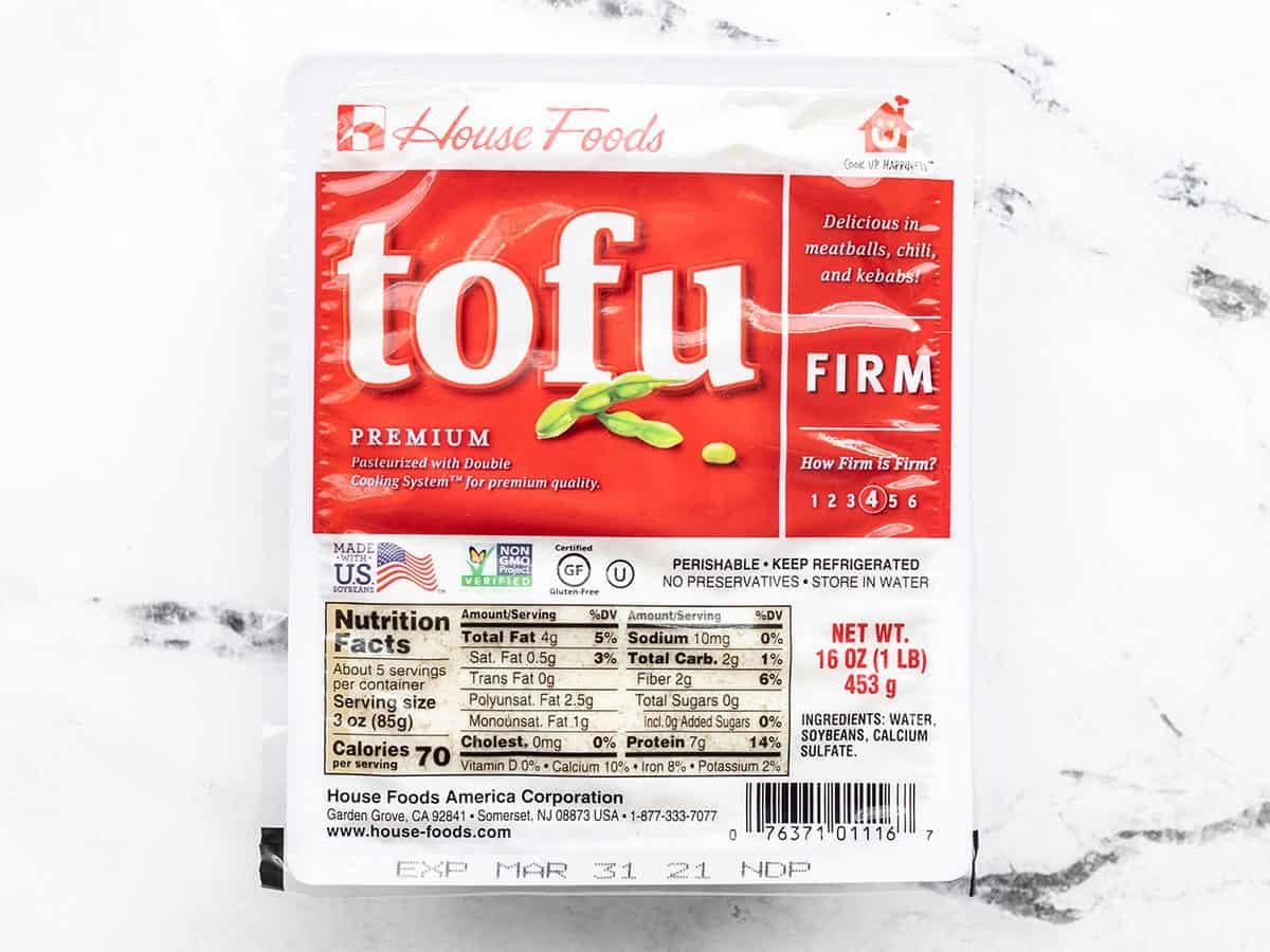 Tofu package