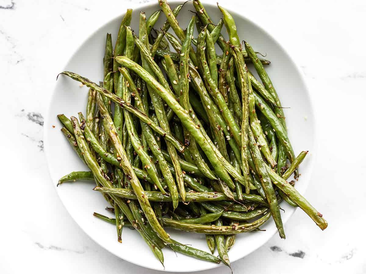 Sesame Roasted Green Beans