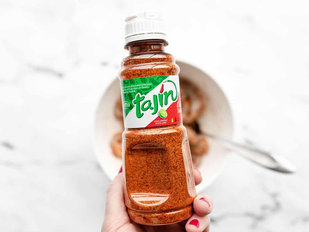 bottle of Tajín