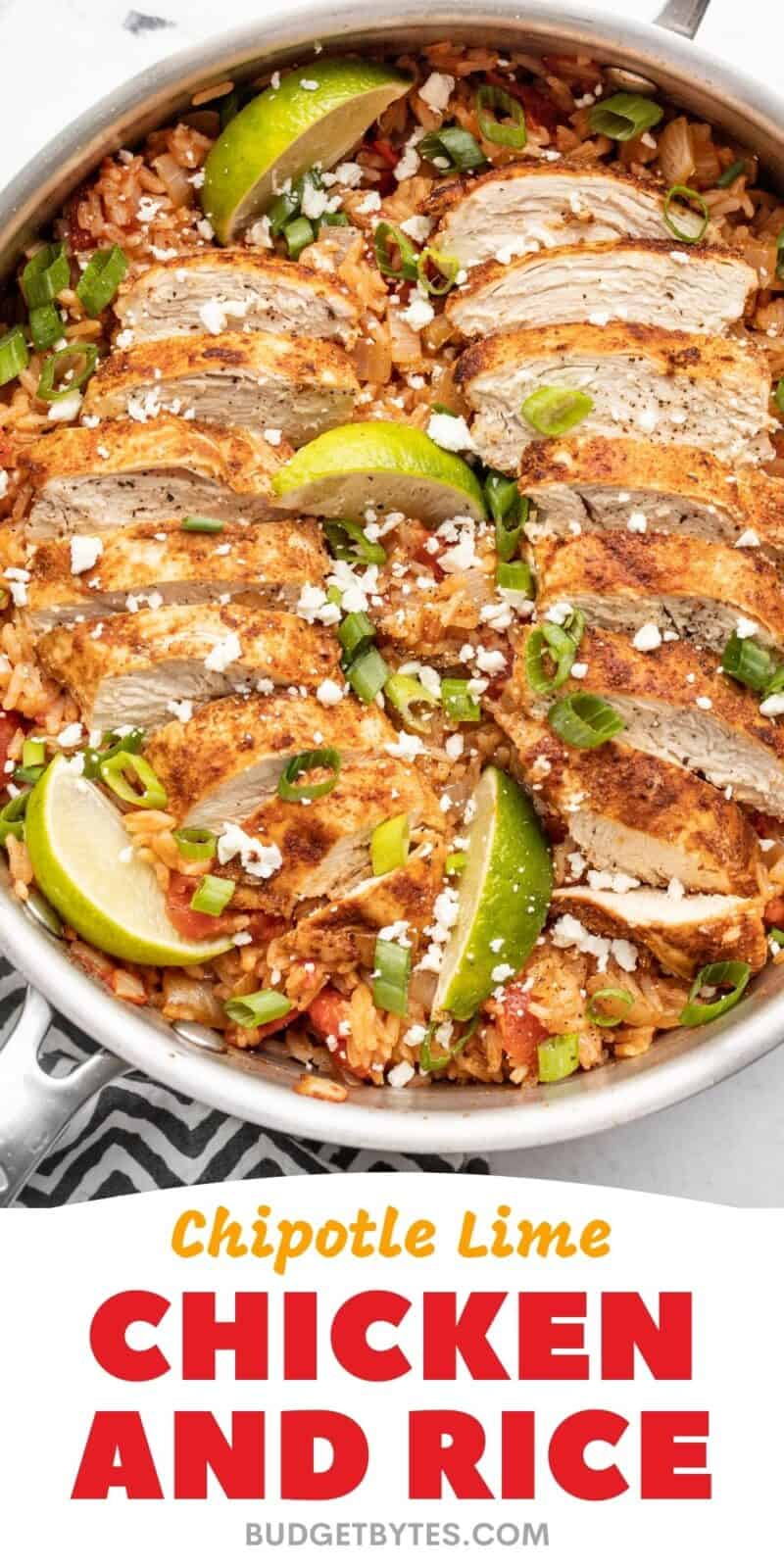 Chipotle Lime Chicken and Rice PIN4