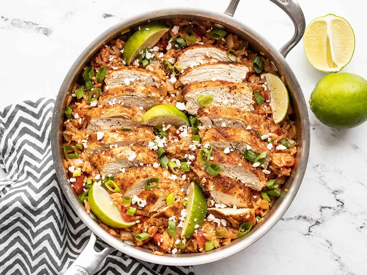 Chipotle Lime Chicken and Rice