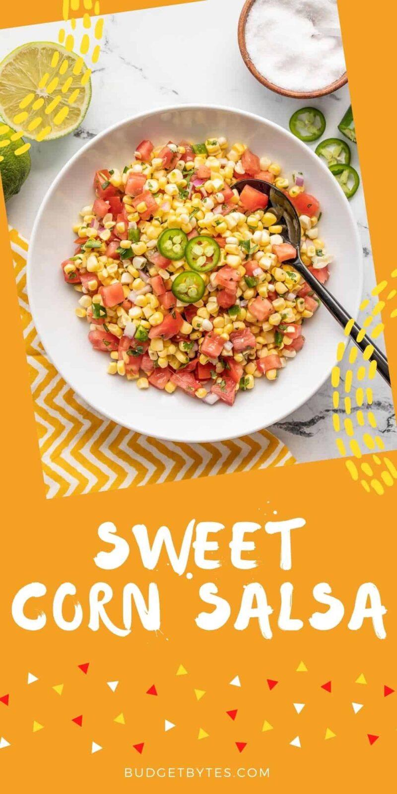 Sweet Corn Salsa PIN3
