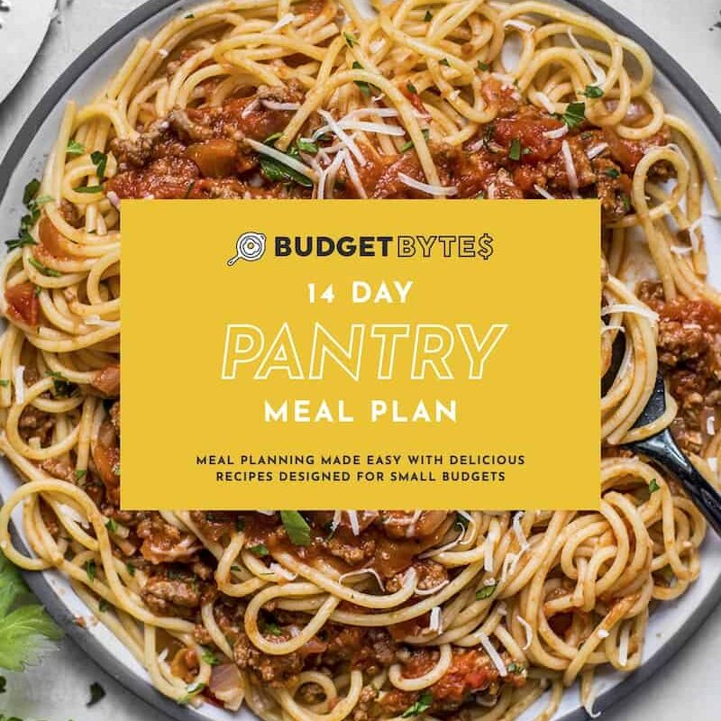 Pantry Meal Plan-cover